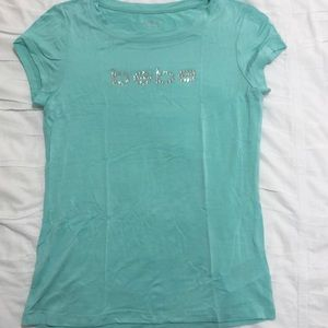BEBE Tee with Logo in Size Small
